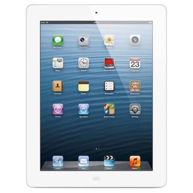 Apple iPad 2 MC979LL/A + FREE iCover Case/Stand (16GB WiFi, White, Grade C)