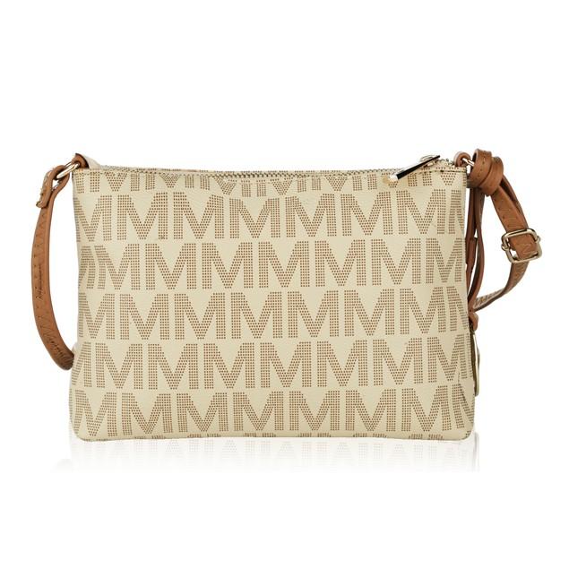 Mia K. Farrow Collection Caylee Signature Cross-body shoulder bag