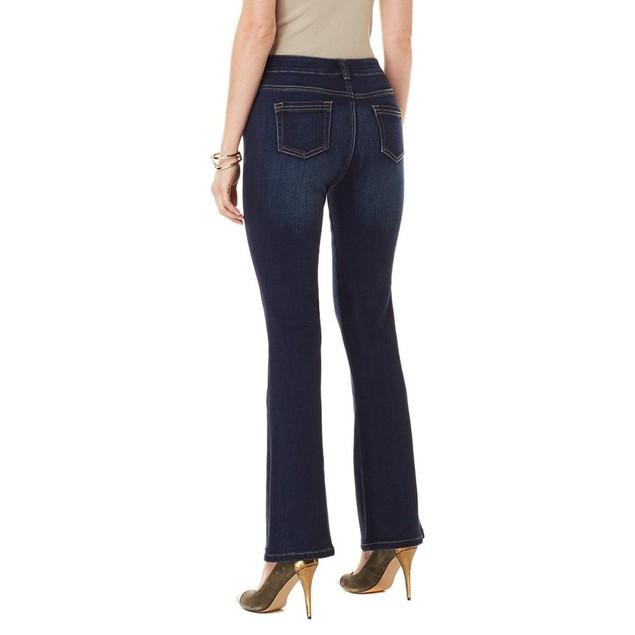 DG2 by Diane Gilman SuperStretch Fit and Flare Boot-Cut Jean
