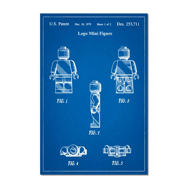 Lego Minifigure Poster