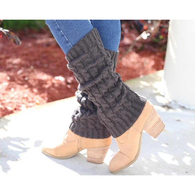 Crochet Leg Warmers (2-Pair) - 6 Colors