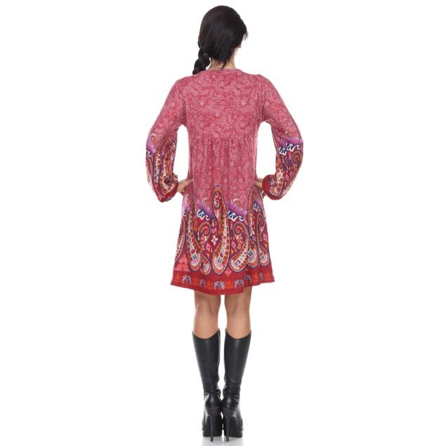 Apolline Embroidered Boho Tunic Dress