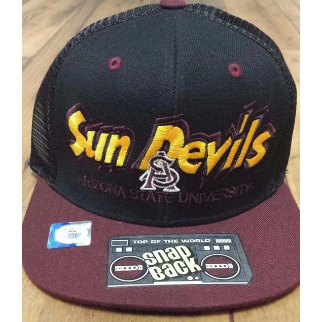 "Arizona State Sun Devils NCAA TOW ""Quagmire MB"" Snapback Hat"