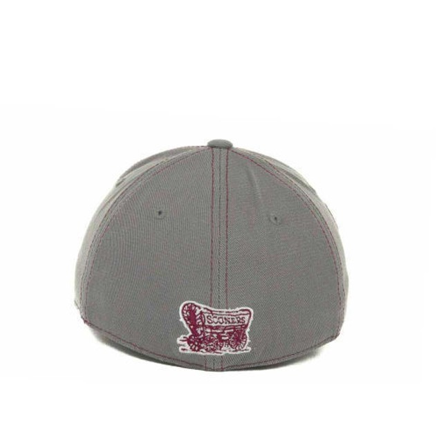 """Oklahoma Sooners NCAA TOW """"Sketched"""" Stretch Fitted Hat"""