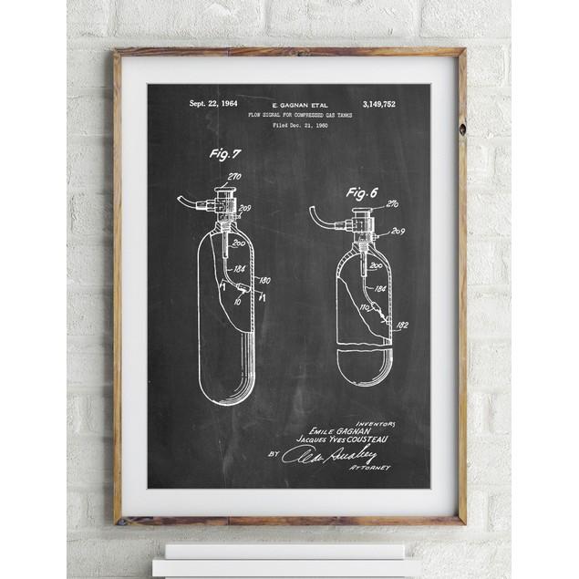 Oxygen Tank Poster