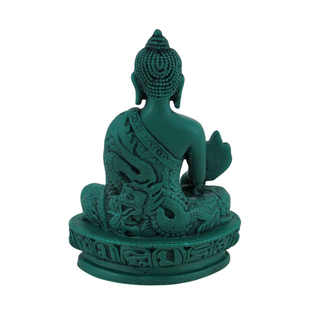 Green Medicine Buddha Statue Bhaisajyaguru Statues