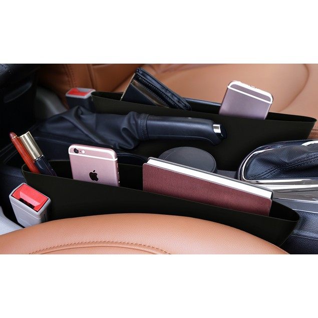 2-Pack Car Seat Caddy Catcher and Organizer