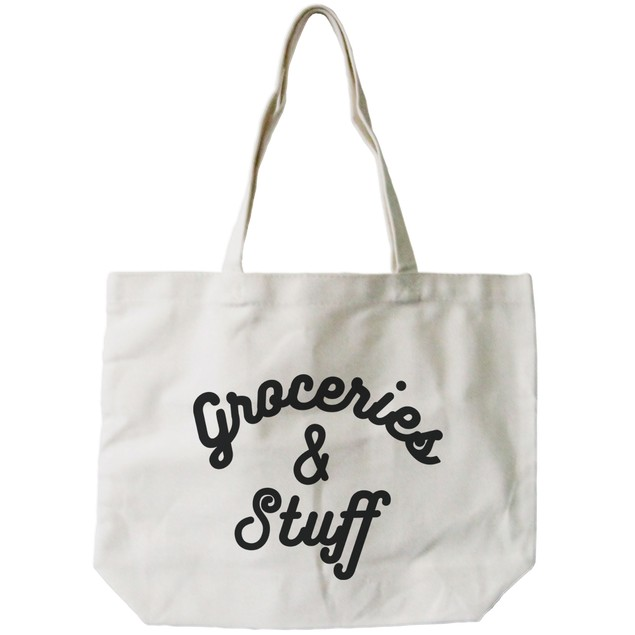 Grocery And Stuff Canvas Bag