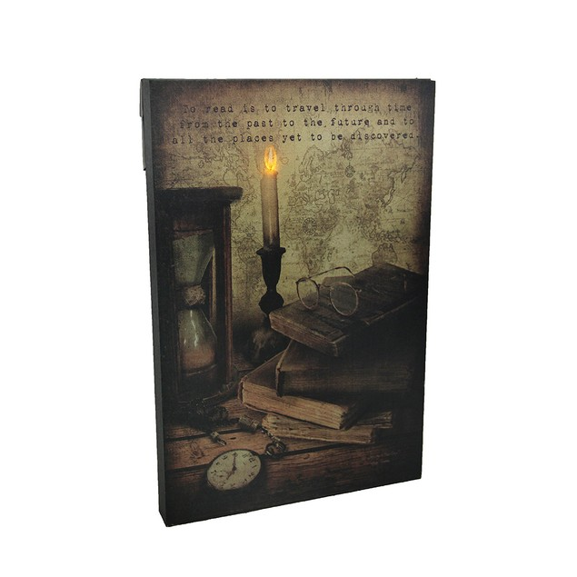 The Gateway Led Lighted Reading Corner Decorative Prints