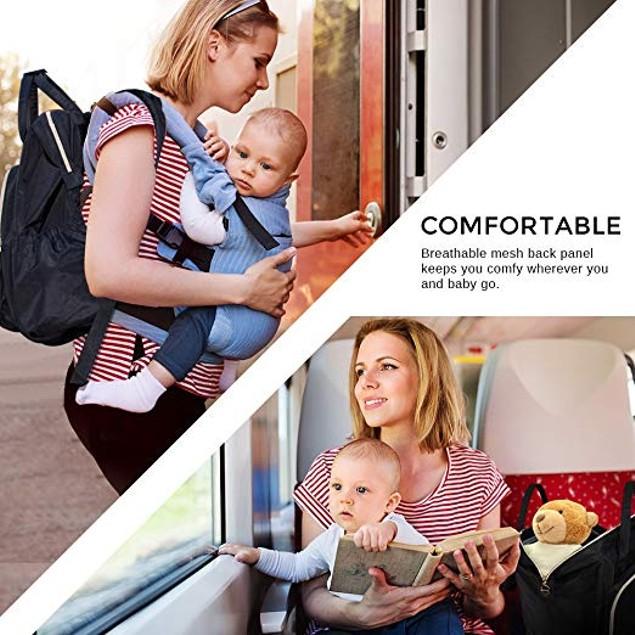 Premium Diaper Bag Backpack by Liname - 2 Colors