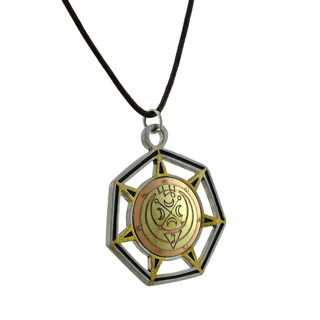 Gabriel, Angel Of The Moon Medieval Magick Charm Mens Pendant Necklaces