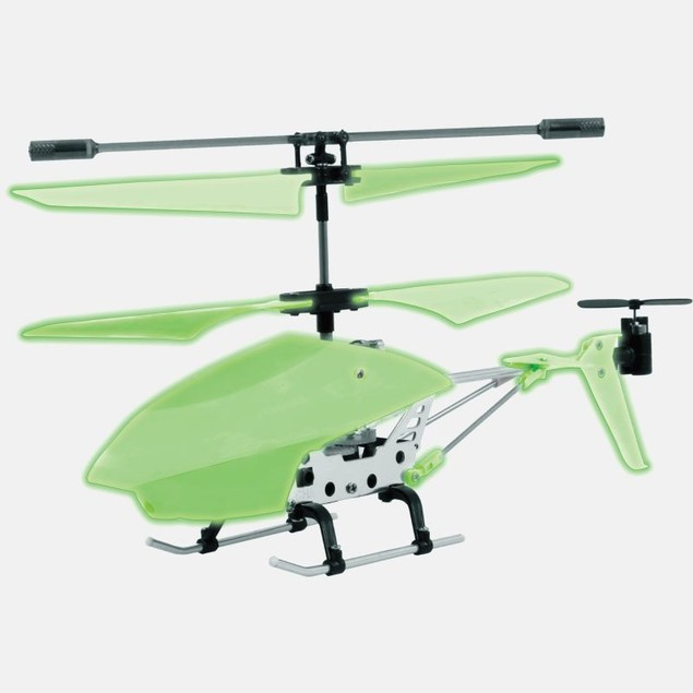 3.5 Channel Glow in the Dark Helicopter