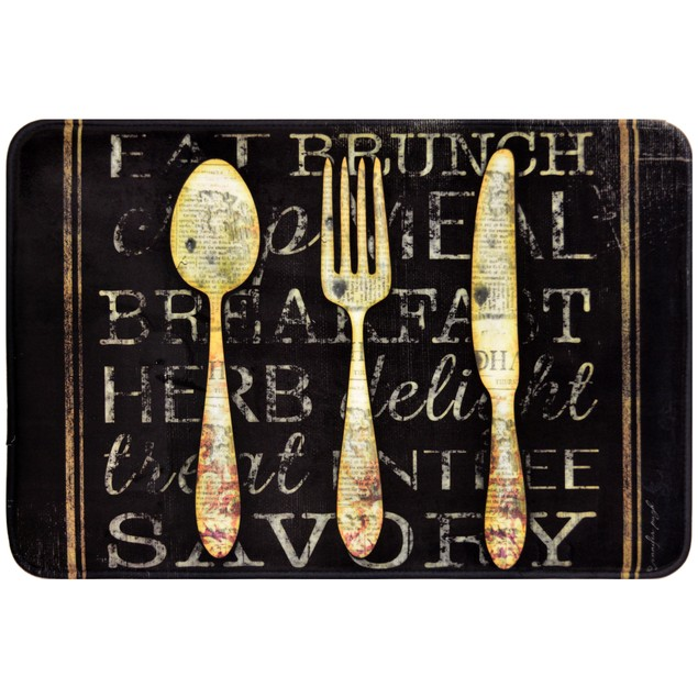 """Daisy Fuentes Relaxed Chef 18"""" X 30"""" Anti-Fatigue Kitchen Mat"""