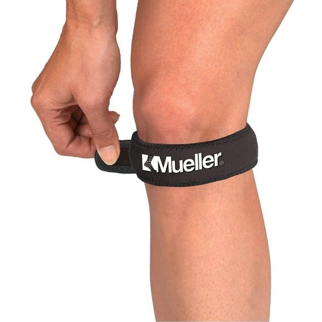 Mueller Sport Care Left/Right Jumper's Knee Strap New In The Box