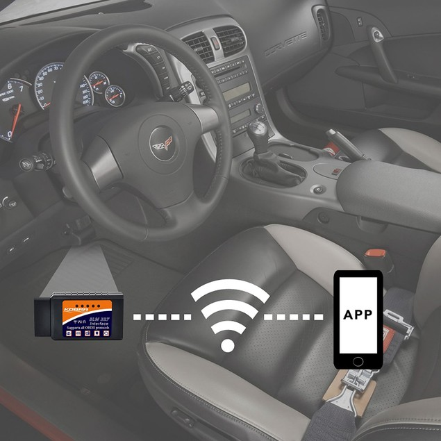 KOBRA Wireless OBD2 Car Code Reader Scan Tool