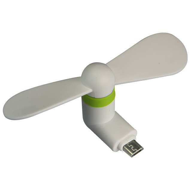 3 Pack: USB Fan for Micro USB Devices