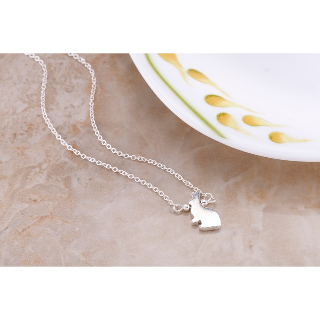 Rabbit Drop 18kt Necklace
