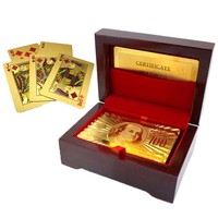 24kt Gold-Plated Playing Cards + Carry Case
