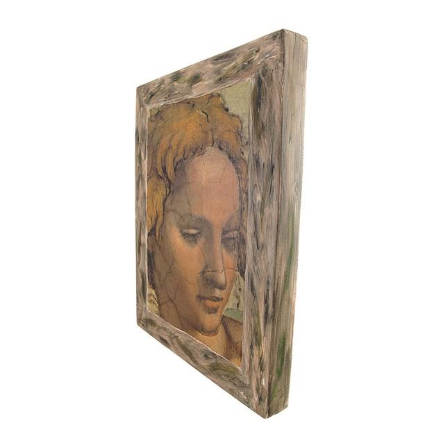 Michelangelo`S Sistine Chapel Ignudi Ezekiel Prints