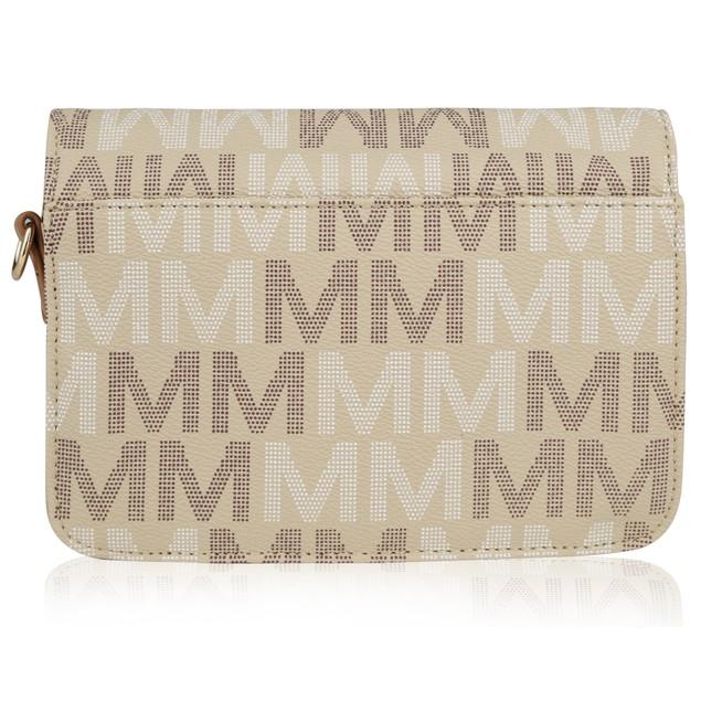 MKF Collection Ferrara M Signature Cross Body Bag by Mia K Farrow