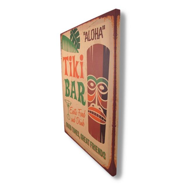 Tropical Tiki Bar Canvas Print 19.75 X 15.75 In. Prints