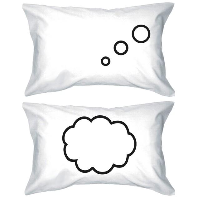 Thinking Cloud Matching Couple Pillowcase