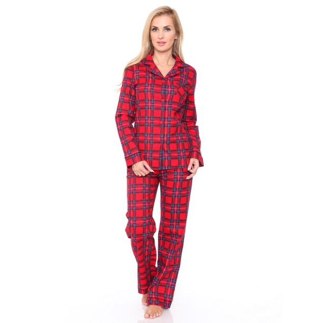 100% Cotton Flannel Pajama Set