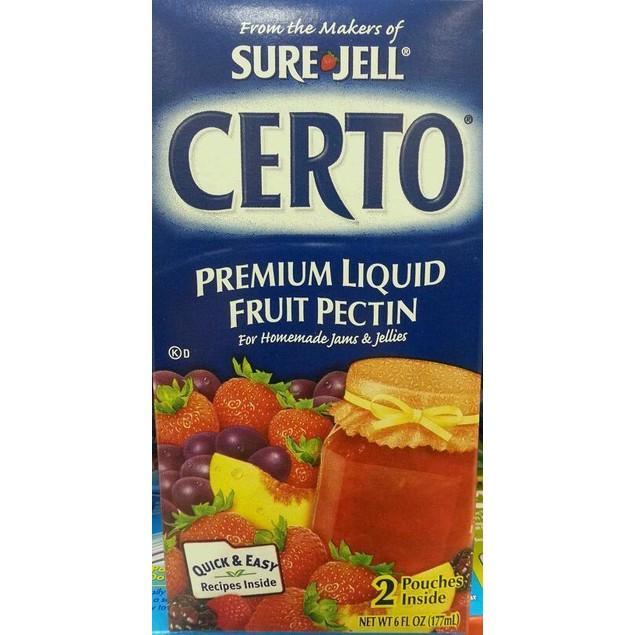 Sure Jell Certo Liquid Fruit Pectin