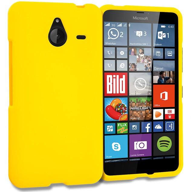 Nokia Lumia 640 XL Hard Rubberized Case Cover