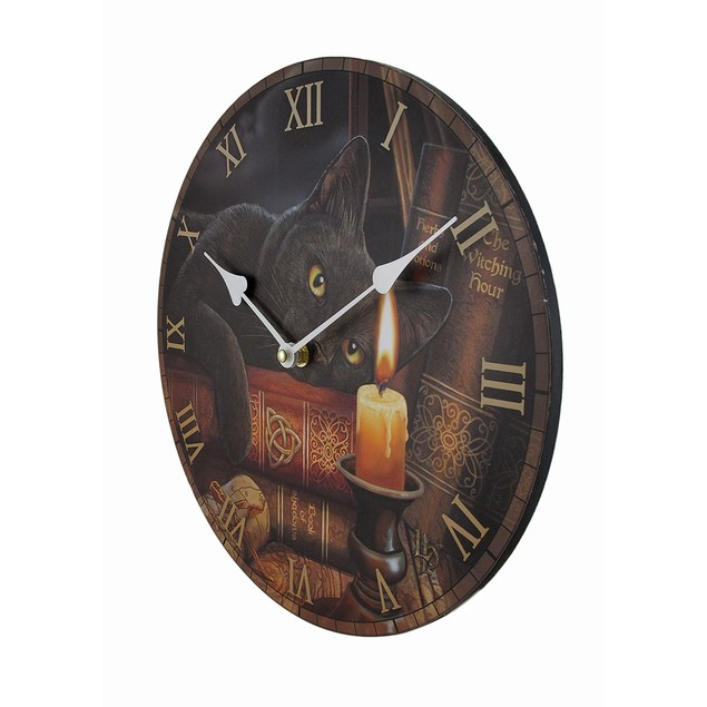 The Witching Hour By Lisa Parker Decorative Wall Wall Clocks