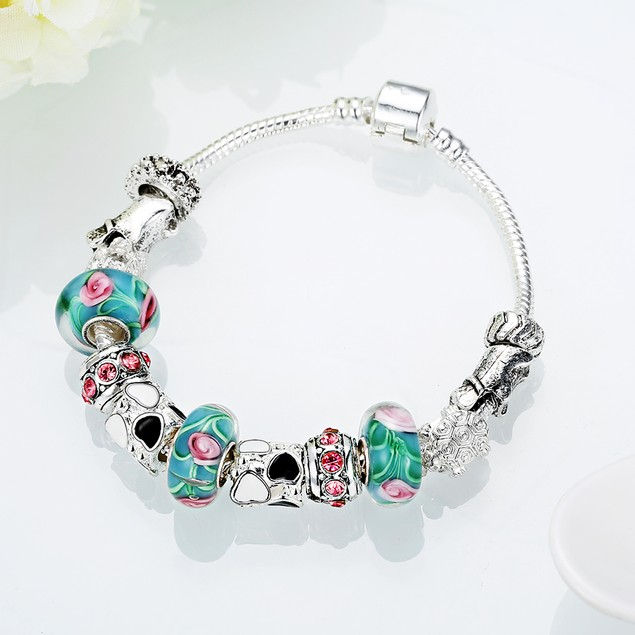 Cotton Candy Love Designer Inspired Bracelet