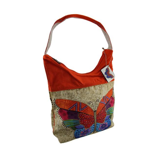 Laurel Burch Flutterbye Medium Butterfly Scoop Womens Tote Bags