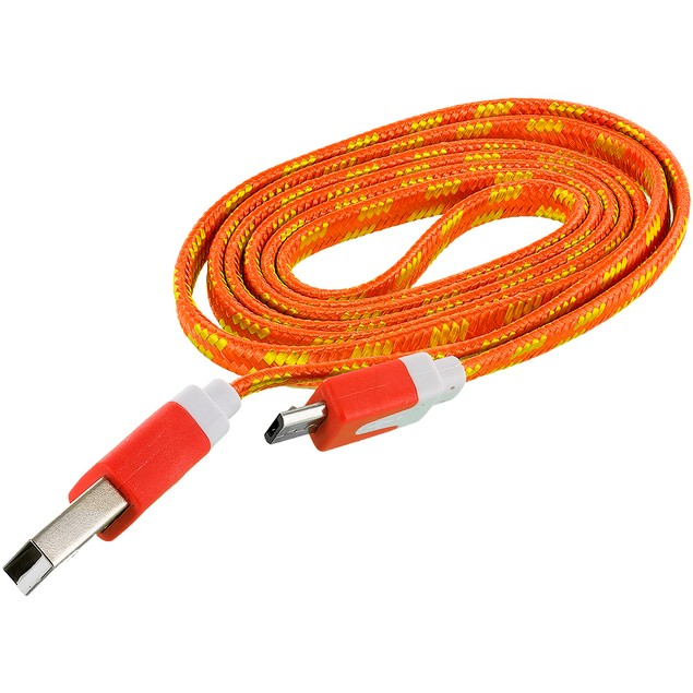Micro USB Tangle-Free Rope Charging Cable