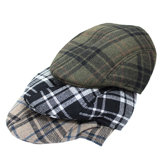 3-Pack Men's Duckbill Caps with Ear Flaps