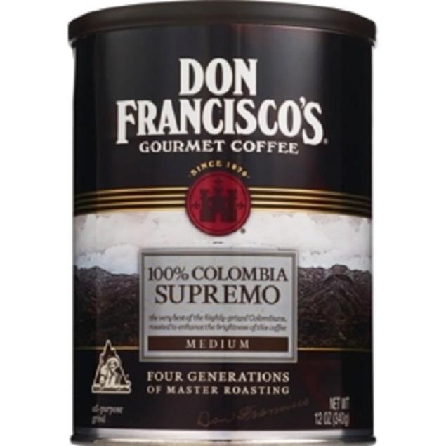 Don Francisco's Gourmet Coffee 100% Colombia Supremo