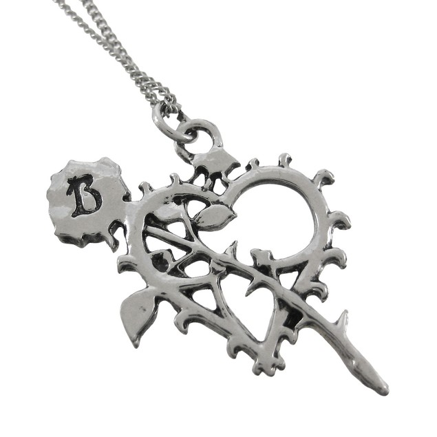 Bloom Of The Eternals Two Tone Heart Pendant Womens Pendant Necklaces
