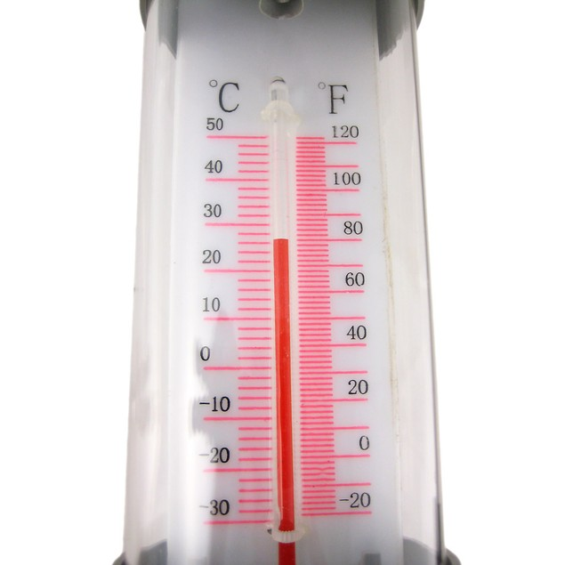 Solar Powered Lighted Outdoor Thermometer Outdoor Figurine Lights
