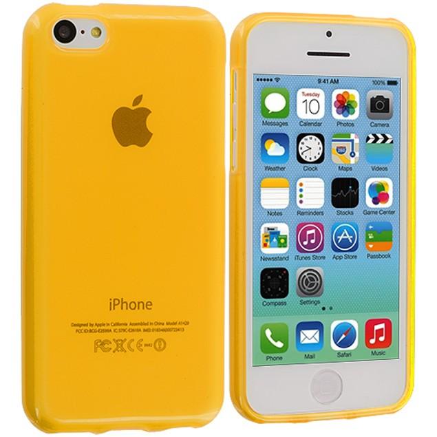 Apple iPhone 5C TPU Rubber Case Cover