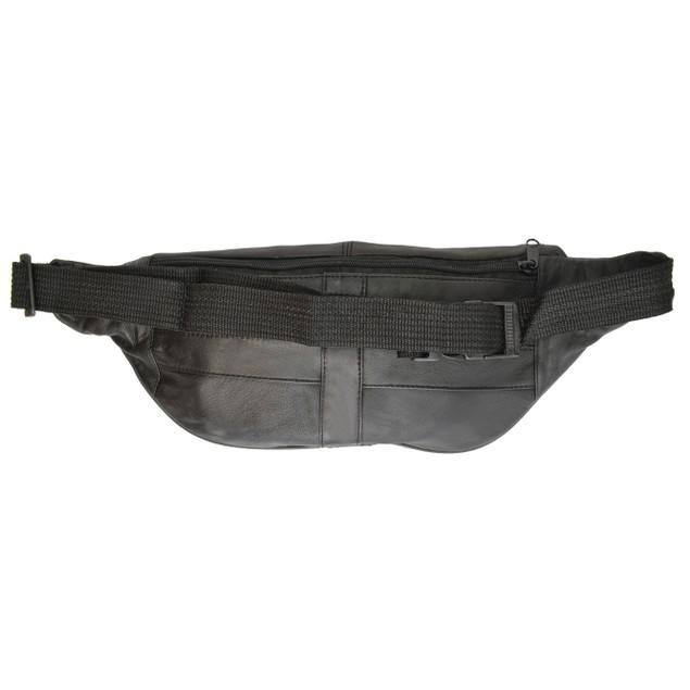 Unisex Super Soft Leather Fanny Bags