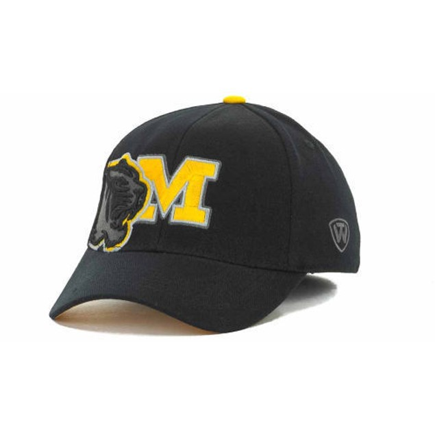 """Missouri Tigers NCAA TOW """"Clutch"""" Stretch Fitted Hat"""