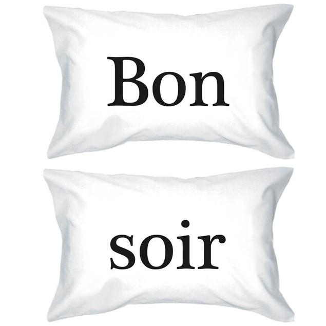 Bon Soir Funny Pillowcases