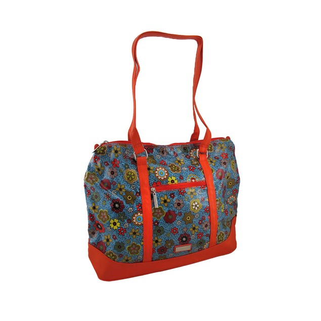 Hadaki Hannah's Tote Floral Swirl Print Oversized Womens Tote Bags