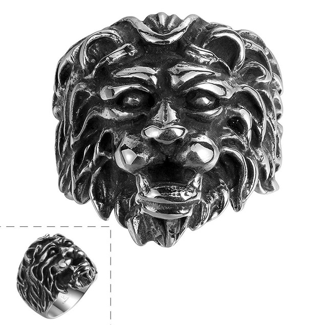 Lion King Stainless Steel Ring