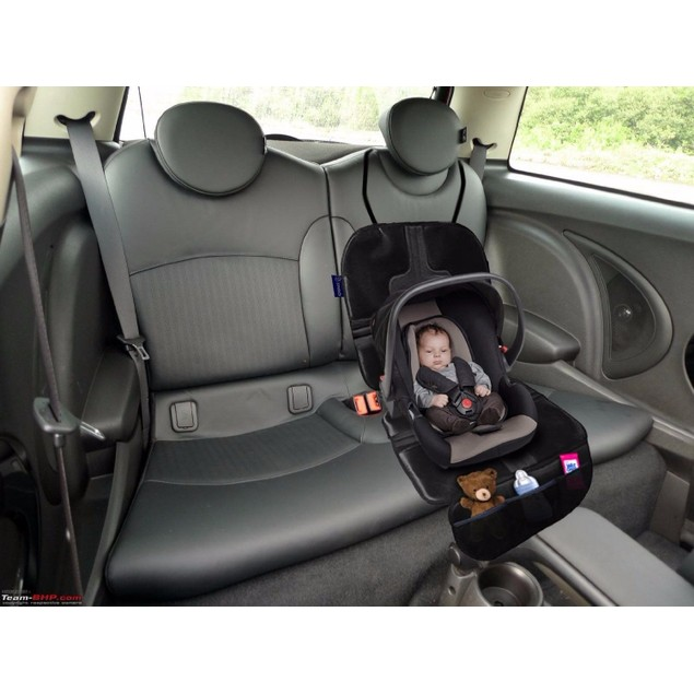 Zone Tech Seat Protector Car Cover for Kids