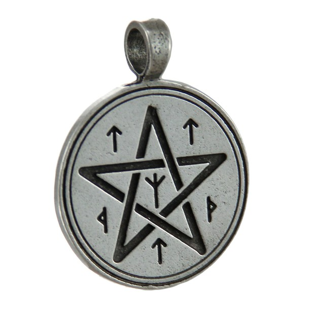 Christopher Penczak Rune Pentacle Spell Charm For Individual Pendants