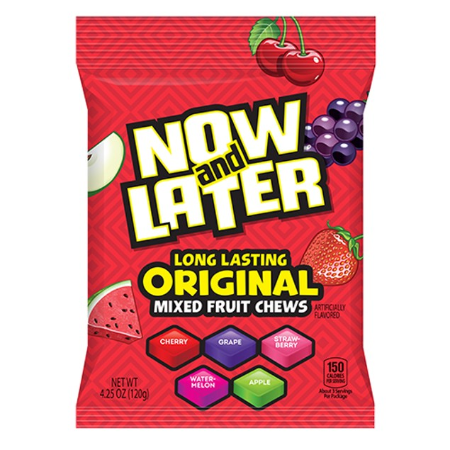 Now and Later Long Lasting Original Mixed Fruit Chews