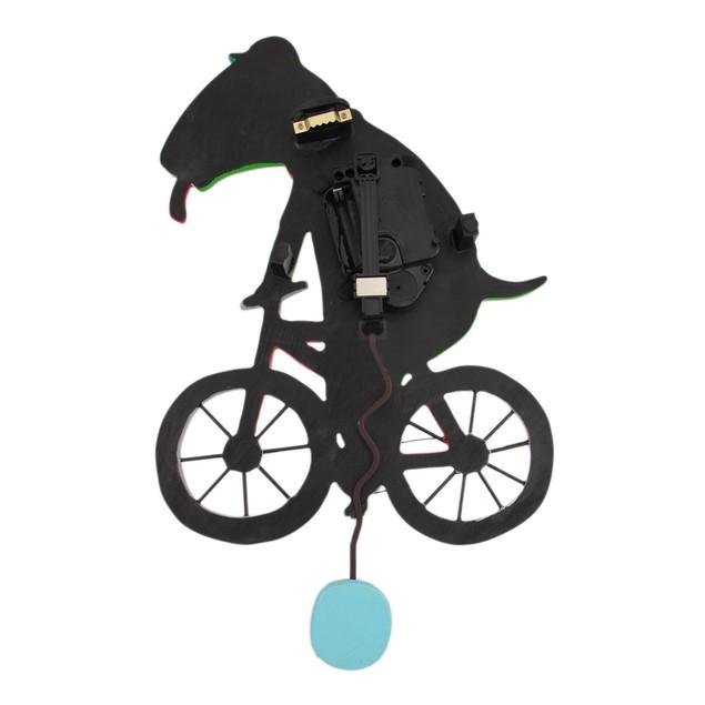 Allen Designs `Ride Big Bike` Dinosaur Bicycle Wall Clocks