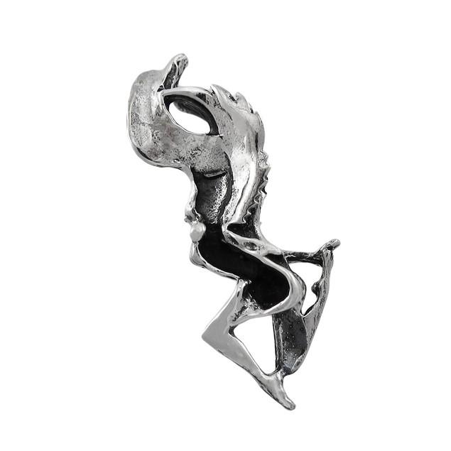 Sterling Silver 3D Guardian Angel Pendant / Charm Pendants