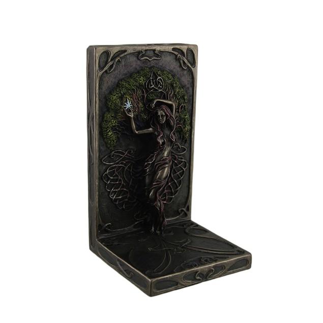 Selina Fenech Earth Life Magic Antique Bronze Decorative Bookends