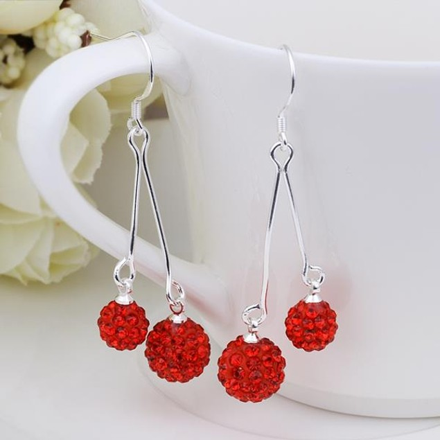 Austrian Stone Drop Earrings
